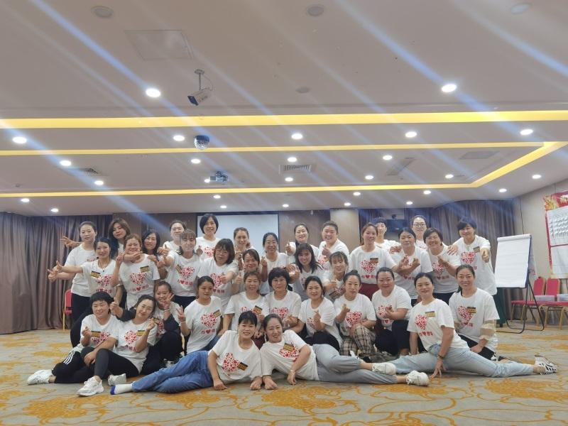 上海维娜化妆品济南团队2021美容院店长及美容师职业素养与团队赋能培训课程