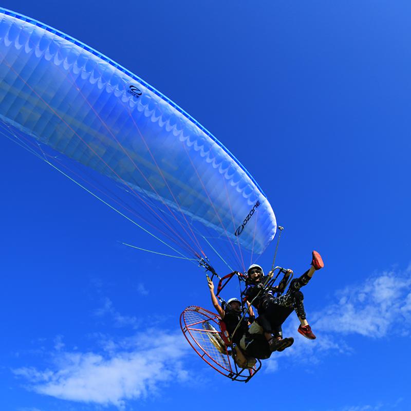 动力伞滑翔体验