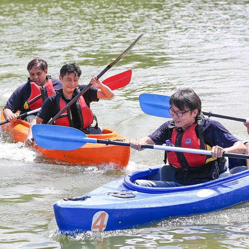 皮划艇主题团建活动