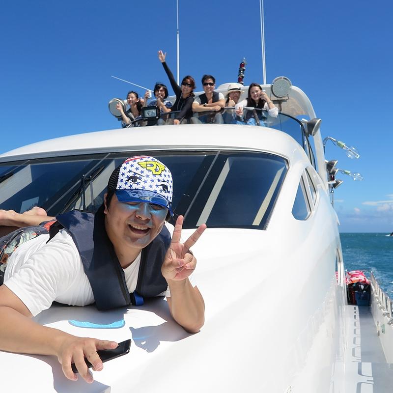 游艇时尚体验