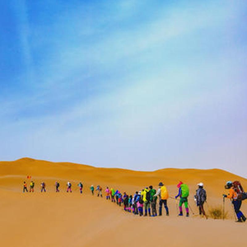 大漠穿越旅行式主题团建