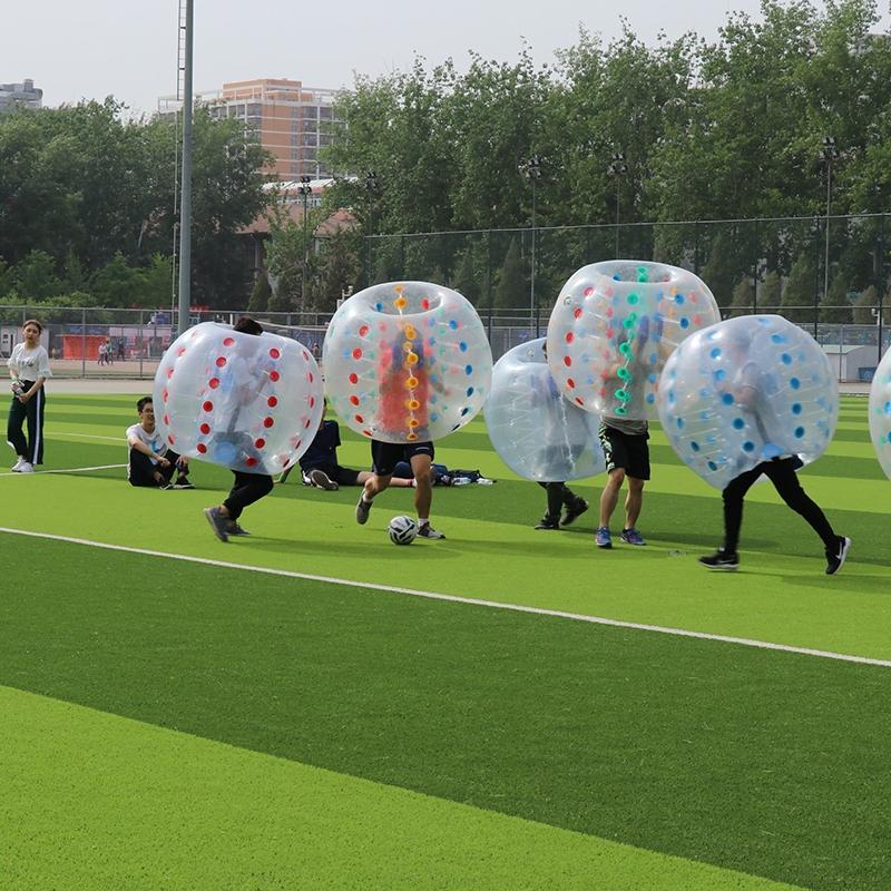 泡泡足球主题团建活动